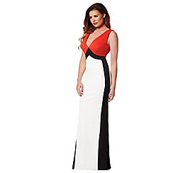 Jessica Wright - Red 'Daniella' maxi dress
