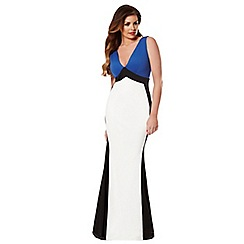 Jessica Wright - Blue 'Daniella' maxi dress