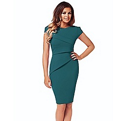 Jessica Wright - Teal 'Vicky' bodycon dress