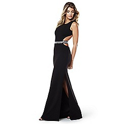 Lipstick Boutique - Black 'Blake' maxi dress