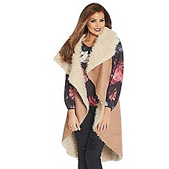 Jessica Wright - Camel 'Holly' cape