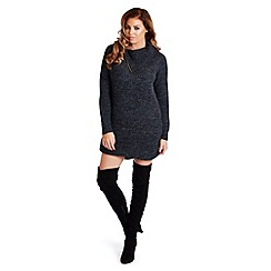 Jessica Wright - Grey 'Suzanna' knit jumper dress