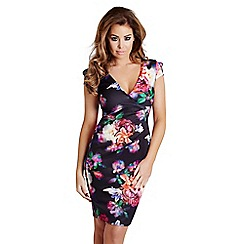 Jessica Wright - Floral 'Pandora' bodycon midi dress
