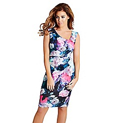 Jessica Wright - Floral 'Sophia' print midi dress