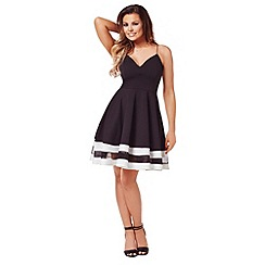 Jessica Wright - Monochrome 'Talula' skater dress