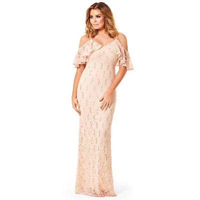 Jessica Wright For Sistaglam Nude Christina Sequin Lace