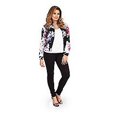 Jessica Wright - Floral print 'Azealia' bomber jacket