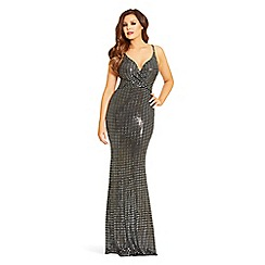 Jessica Wright for Sistaglam - Sequin 'Clarity' maxi dress