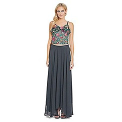 Sistaglam - Floral 'Honor' embroidered top