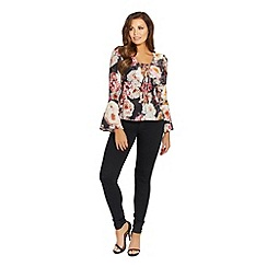 Jessica Wright for Sistaglam - Floral 'Jemima' blouse