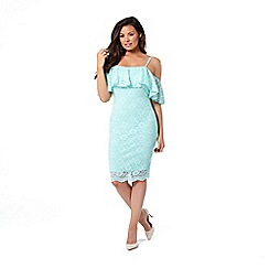 Jessica Wright for Sistaglam - Mint 'Ellis' lace bodycon dress