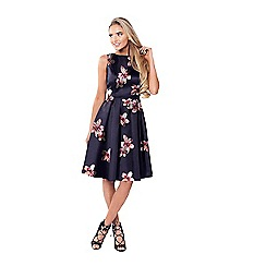 Sistaglam - Floral 'Avrille' prom dress