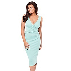 Jessica Wright for Sistaglam - Mint 'Alria' bodycon dress
