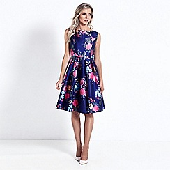 Sistaglam - Floral 'Neeko' prom dress