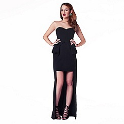 Rosie Fortescue - Black 'Venice' maxi dress