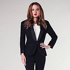 Rosie Fortescue - Black 'Athens' blazer