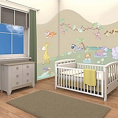 Walltastic - 'Baby Jungle Safari' room decor kit