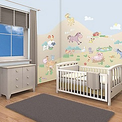 Walltastic - 'Baby Fun on the Farm' room decor kit