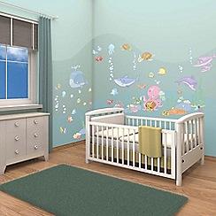 Walltastic - 'Baby Under the Sea' room decor kit