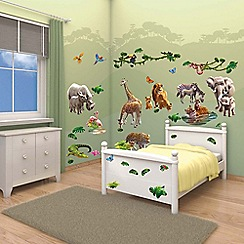 Walltastic - 'Jungle Adventure' room decor kit