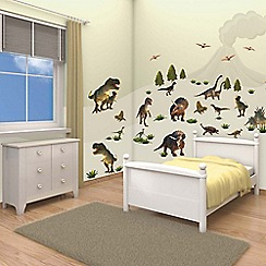Walltastic - 'Dinosaur Land' room decor kit