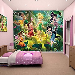 Walltastic - 'Disney Fairies' wallpaper mural