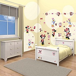 Walltastic - 'Disney Minnie Mouse' room decor kit
