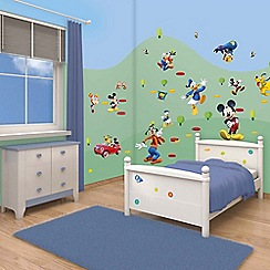 Walltastic - 'Disney Mickey Mouse Clubhouse' room decor kit