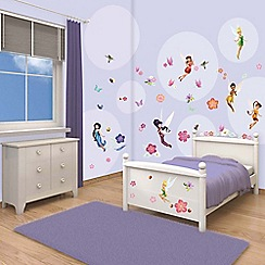 Walltastic - 'Disney Fairies' room decor kit