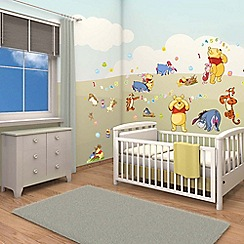 Walltastic - 'Disney Winnie the Pooh' room decor kit
