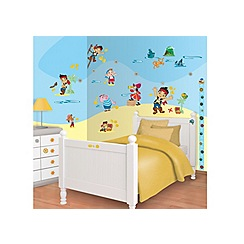 Walltastic - 'Disney Jake and the Neverland Pirates' room decor kit