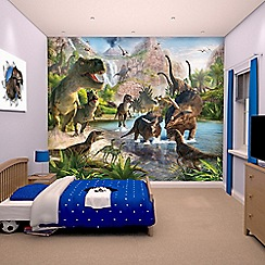 Walltastic - 'Dinosaur Land' wallpaper mural