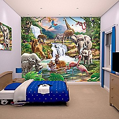Walltastic - 'Jungle Adventure' wallpaper mural
