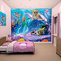 Walltastic - 'Mermaids' wallpaper mural