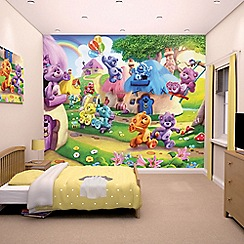 Walltastic - 'The Button Bears' wallpaper mural