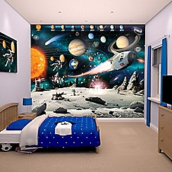Walltastic - 'Space Adventure' wallpaper mural
