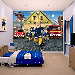 Walltastic - 'Fireman Sam' wallpaper mural