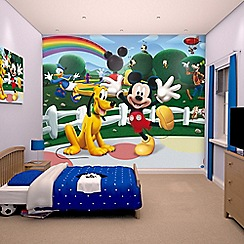 Walltastic - 'Disney Mickey Mouse Clubhouse' wallpaper mural