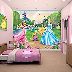 Walltastic - 'Disney Princess' wallpaper mural