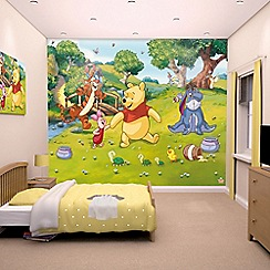 Walltastic - 'Disney Winnie the Pooh' wallpaper mural