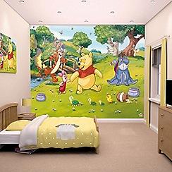 Walltastic - 'Disney Winnie the Pooh' wallpaper mural