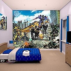 Walltastic - 'Transformers: Age of Extinction' wallpaper mural