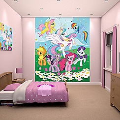 Walltastic - 'My Little Pony: Friendship is Magic' wallpaper mural