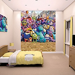 Walltastic - 'Disney Monsters University' wallpaper mural