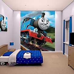 Walltastic - 'Thomas the Tank Engine' wallpaper mural