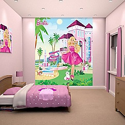 Walltastic - 'Barbie' wallpaper mural