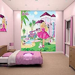 Walltastic - 'Barbie' wallpaper mural