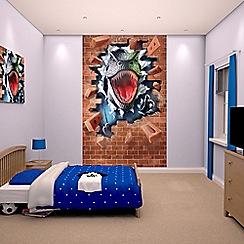 Walltastic - 'Dinosaur' poster mural