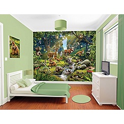 Walltastic - 'Animals of The Forest' wallpaper mural