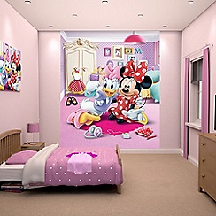 Walltastic - 'Disney Minnie Mouse' wallpaper mural